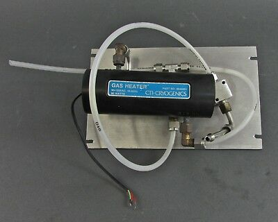 CTI-Cryogenics 8044051 Gas Heater 90-120 VAC, 50-60 Hz, 90 Watts w/ 3 Valves