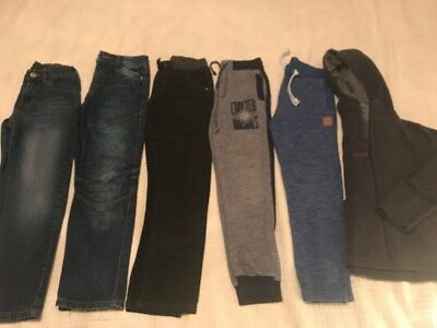 Boys Clothes Bundle Age Age 7-8 Jeans Joggers & Hoodie