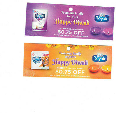 COUPONS - Save on ROYALE VELOUR & ROYALE TIGER TOWELS - CANADA ONLY