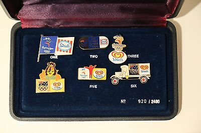 STREETS ICE CREAM OLYMPIC PIN SET - Sydney 2000 games