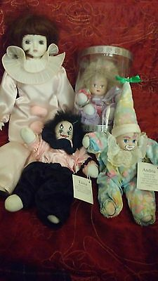 Antique/Vintage Dolls 3 Named and tagged, & French Porcelain