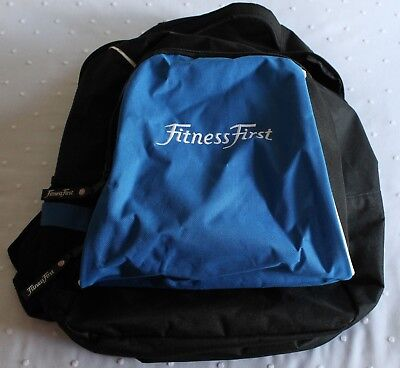NEW Fitness First Backpack Medium/Large