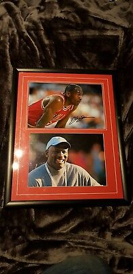 Michael jordan signed picture framed