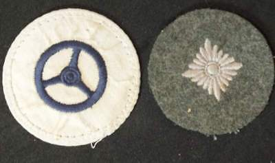 Lot of two German WW2 military patches