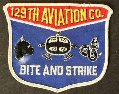 129th Aviation Company patch