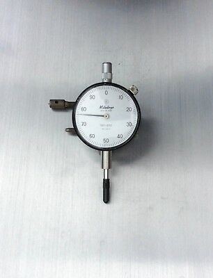 """Mitutoyo Japan 2410 Dial Indicator .001"""" 0–.25"""" Lug Back AGD2 Works Flawlessly"""