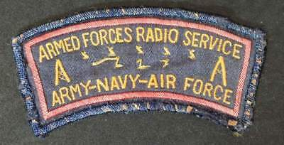 Armed Forces Radio Service patch theater made