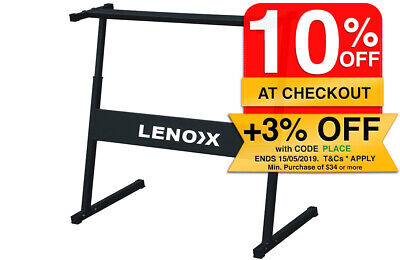 Lenoxx Z H Shape Universal Metal Stand for Electric keyboard KB922 & other Brand