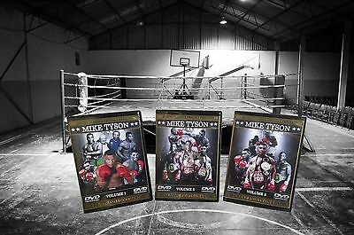 Mike Tyson Boxing DVD Sets Volumes 1, 2 & 3