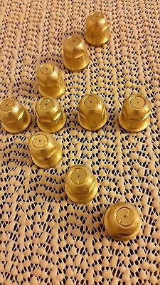 (10 Tips)Spraying SystemsTeeJet TX-6 Brass ConeJet Hollow Cone Spray Tip
