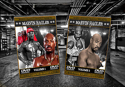 Marvin Hagler Boxing DVD Sets Volumes 1 & 2 (LIMITED TIME ONLY)