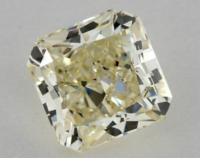 Natural Yellow Diamond 2.11 Ct GIA Certified W-X Color Radiant Cut VS2 Loose