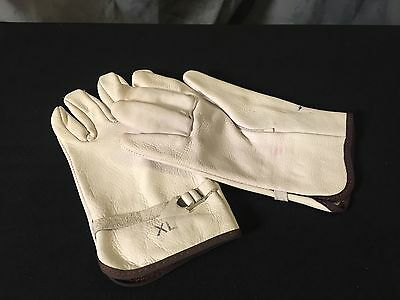 Wildland Fire Fighting Protective Gloves-Heavy Duty Leather Size-XL