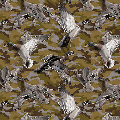 Duck Camouflage Anti-Pill Fleece Throw Blanket