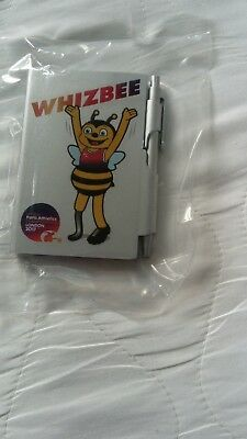 London 2017 World Para Athletics Official Whizbee Mascot Notebook