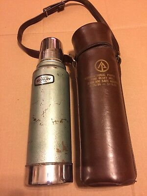 Vintage Aladdin Stanley B-85 Thermos With Carrying Case