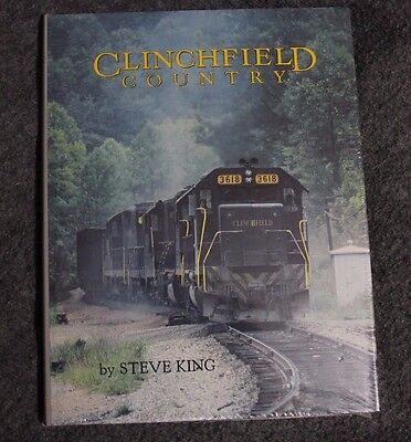 New Copy Clinchfield Country By Steve King Old Line Graphics Book Sealed