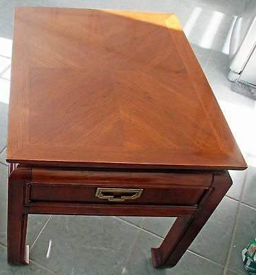 Thomasville end table, rectangular.