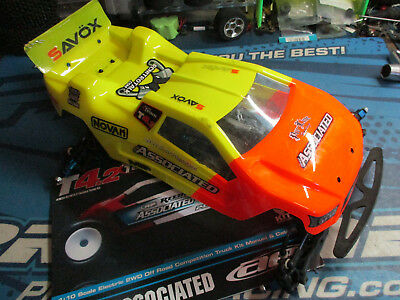 Team Associated T4.2 1/10 sc truck chassis upgraded