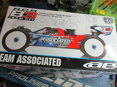Team Associated RC8, RC8b3 1/8 buggy chassis