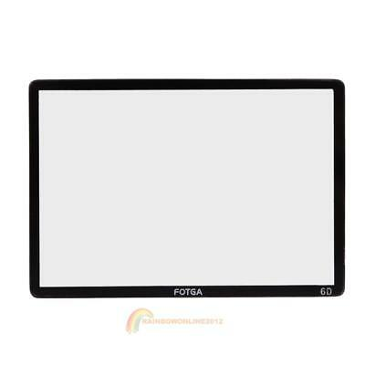 Fotga Optical Glass LCD Screen Protector Guard for Canon EOS 6D DSLR Camera