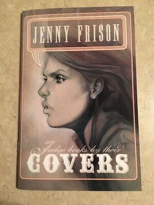 JENNY FRISON Sketchbook 2009 JUDGE BOOKS BY THEIR COVERS SIGNED RARE OOP