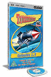 Sony PSP UMD DVD - Thunderbirds 40th Anniversary Episodes 1-3