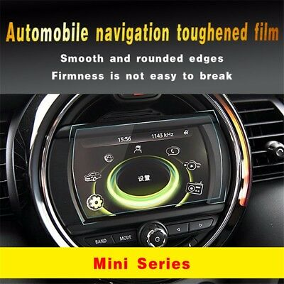 Car DVD GPS Navigation Screen Steel Protector Tempered Film For BMW Mini Cooper