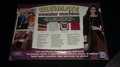Bond America Ultimate Sweater Machine, with Row Counter, Never Used in box