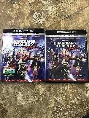 Guardians of the Galaxy Vol 2 4K Blu-ray Digital Brand NEW FREE~Shipping!
