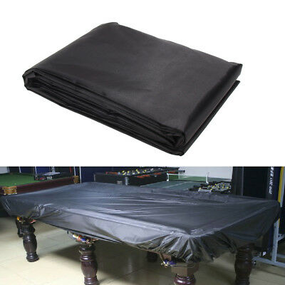 8 foot Protective Pool Table Billiard Dustproof Dirt Proof Cover Cloth Sheet