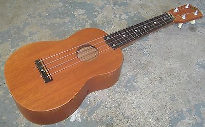 """1960s """"Norma"""" Ukulele. Soprano. Made in Japan. Fine Condition."""