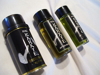 Hai Karate - After Shave Lotion and Deodorant lot