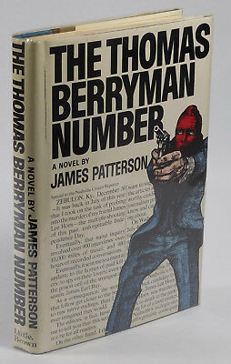 The Thomas Berryman Number, 1st Edition 1st Printing, James Patterson, 1976, G/G