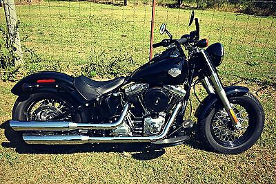 2013 Harley-Davidson Softail  Harley-Davidson 2013 Softail Slim Blacked Out Motorcycle