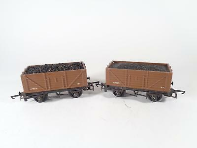 TRIANG R13 7-pl Brown Coal Wagon W1005 - EXCL PAIR