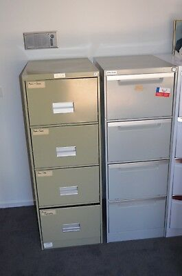 Relocation Sale - Two of 4 drawer steel filing cabinets