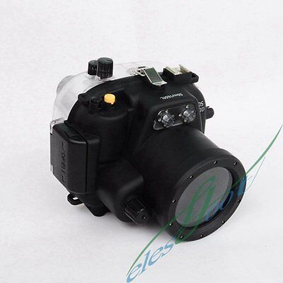 Meikon 50m 160ft Waterproof Diving Surfing Housing Case For Canon EOS 550D【IE】