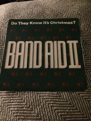 """Vinyl 7"""" Single Band Aid II Do They Know It's Christmas"""