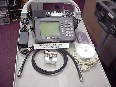 Anritsu S332B SiteMaster Antenna/Cable Analyzer 25Mhz-4Ghz WITH OPTION 5