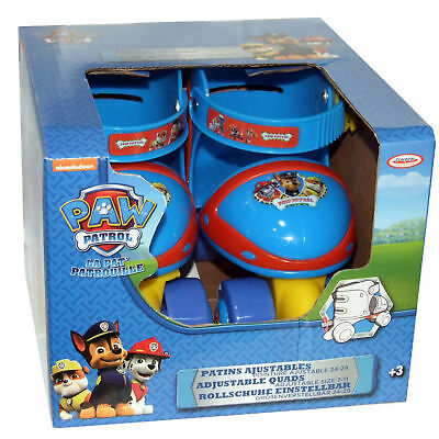 Paw Patrol Kids Quad Roller Skates New Chils Size 7 - 11