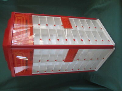 Matchbox  Rare  1984   4 Sides Display Case On Turntable