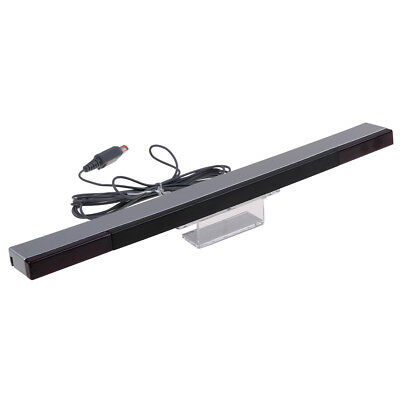 Wired Remote Infrared Ray IR Inductor Motion Sensor Bar for Nintendo -AU