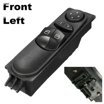 12Pin  Front Left Master Electric Power Window Switch For Mercedes Sprinter W906