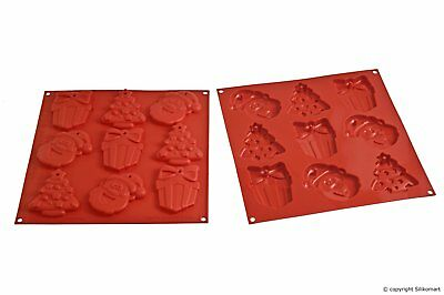 STAMPO BISCOTTI NATALE SILICONE SILIKOMART MY CHRISTMAS COOKIES HSH 02 A mshop