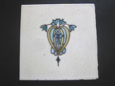 Antique Wall Tile 6 Inch Tubelined