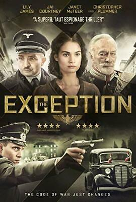 The Exception [DVD] - DVD  P8VG The Cheap Fast Free Post