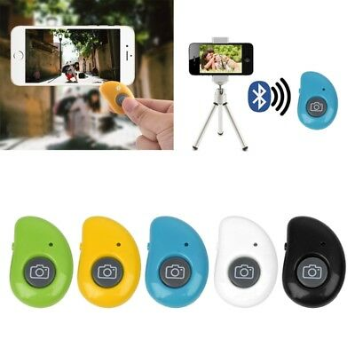 Remote Control Wireless Bluetooth Selfie Shutter Button For Tablet PC Smartphone