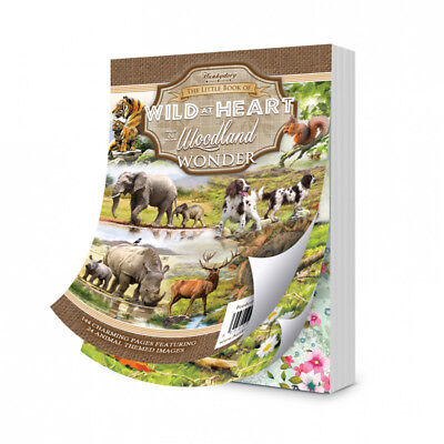 Hunkydory The Little Book of - WILD AT HEART & WOODLAND WONDER LBK195