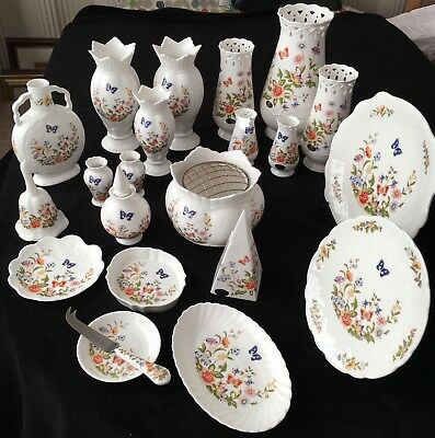 Aynsley Cottage Garden 21 Piece Collection